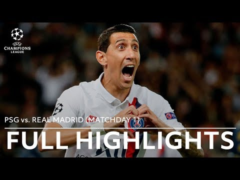 PSG vs. Real Madrid Full Highlights | 2019-20 Champions League Matchday 1 youtube downloader