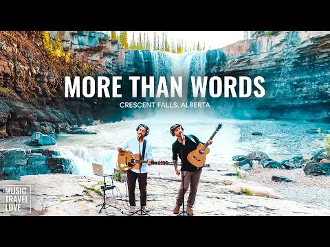 More Than Words - Music Travel Love (Crescent Falls, Alberta Canada) (Extreme Cover) youtube downloader