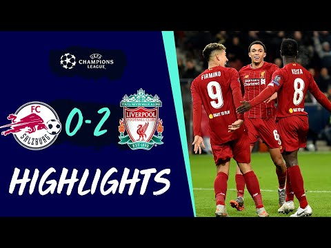 Highlights: Salzburg 0-2 Liverpool | Reds qualify for Champions League knockout stage youtube downloader