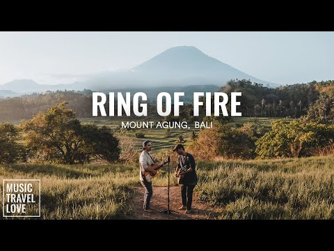 Ring of Fire - Music Travel Love (Mount Agung, Bali Indonesia) (Johnny Cash Cover) youtube downloader